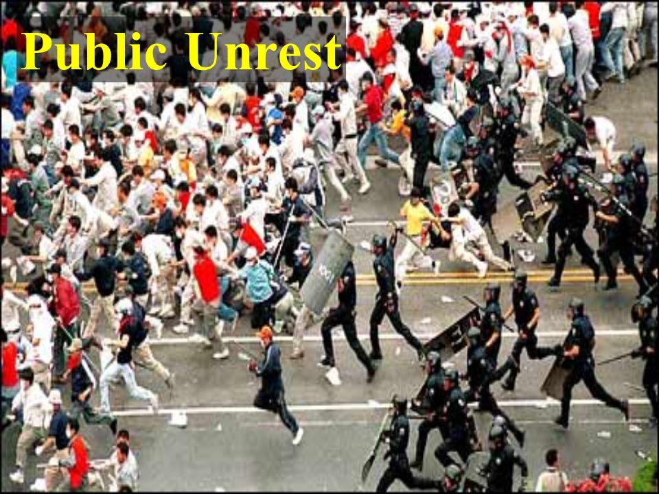 Public Unrest