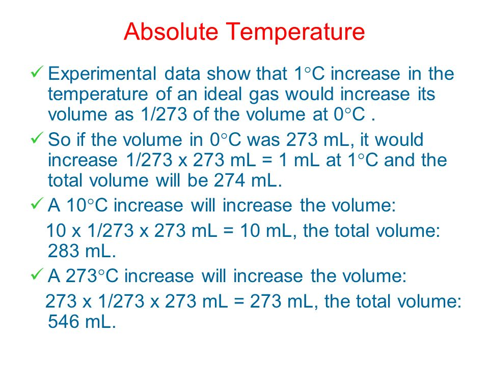 Absolute Temperature
