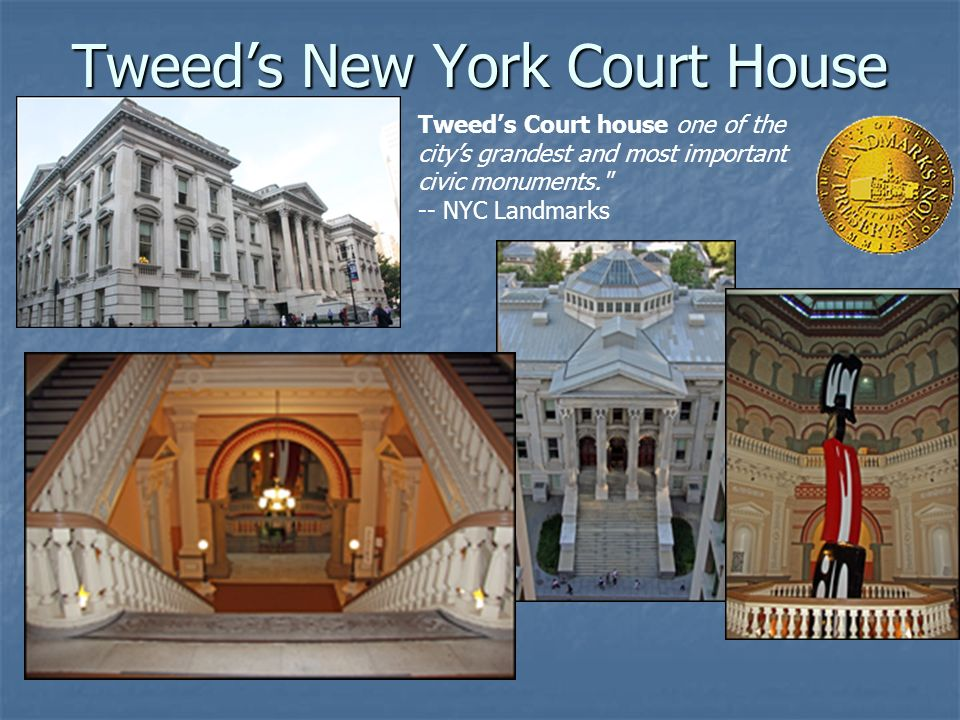 Tweed's New York Court House