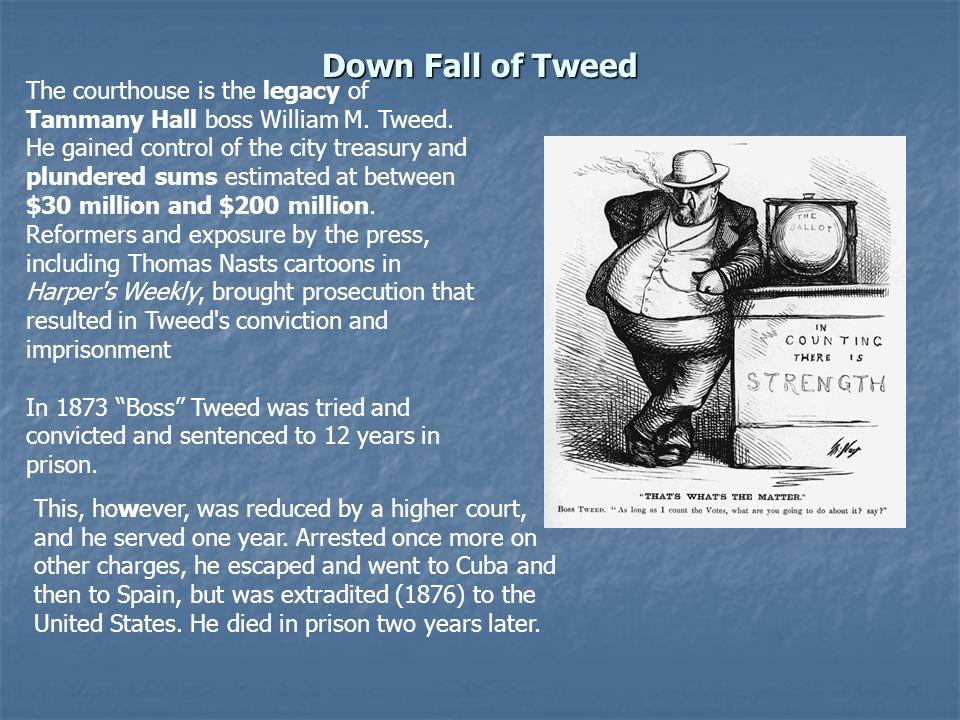 Down Fall of Tweed