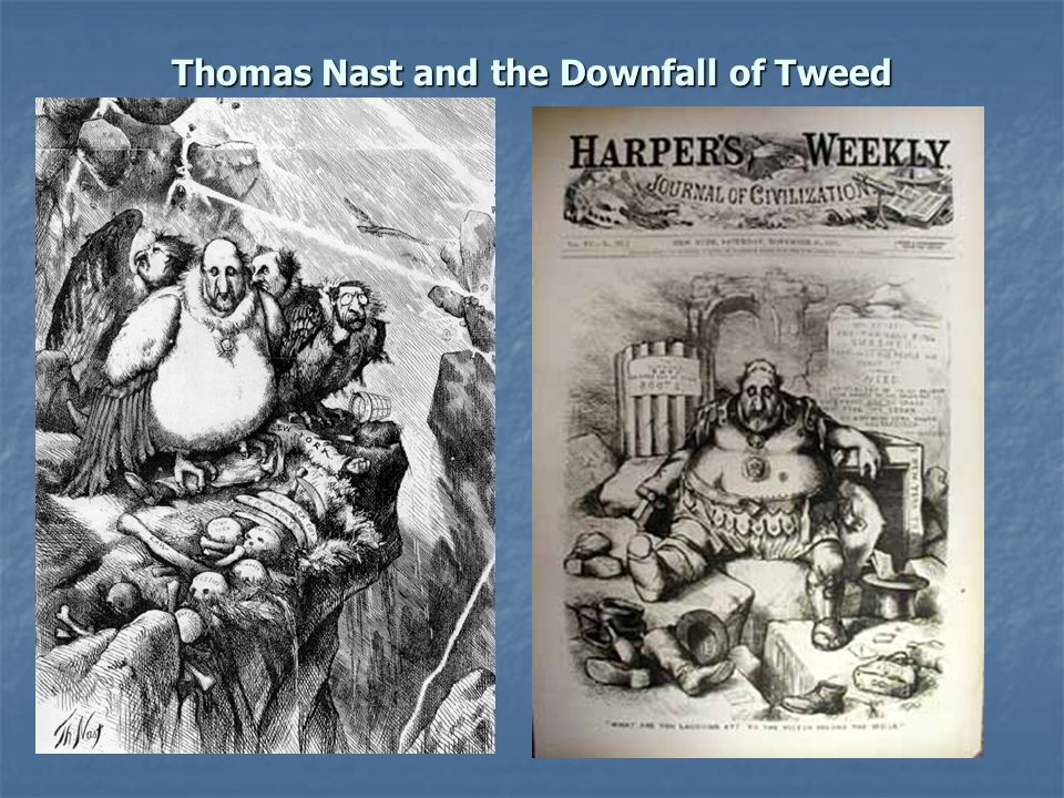 Thomas Nast and the Downfall of Tweed