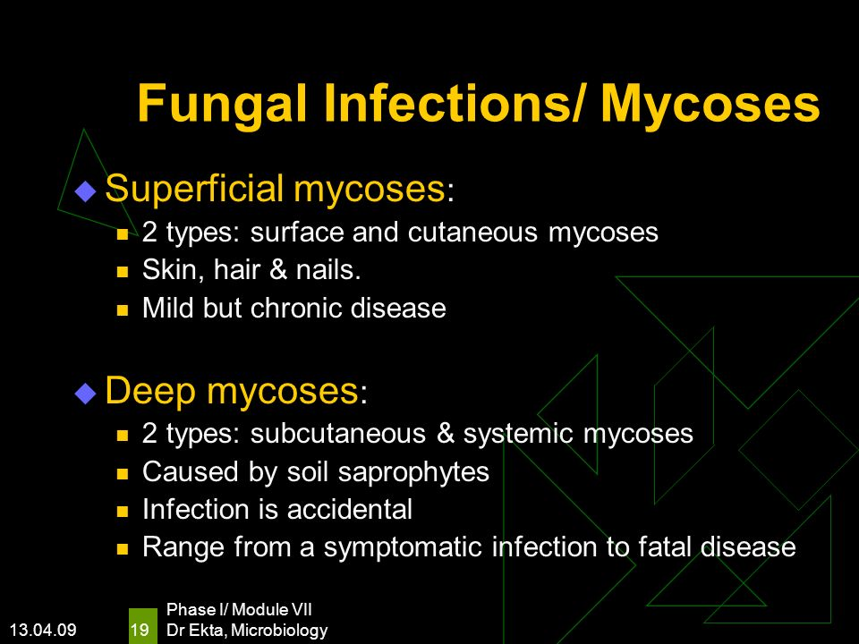 Fungal Infections/ Mycoses