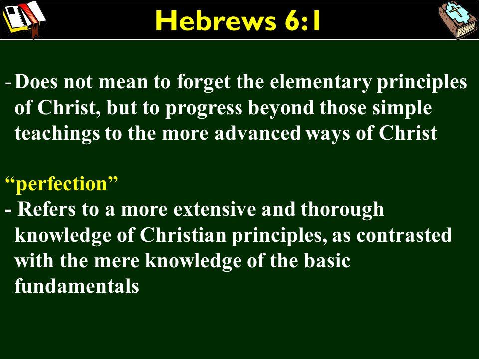Hebrews 6:1