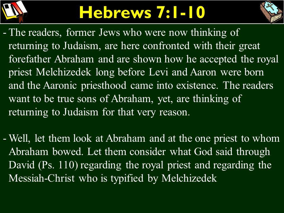 Hebrews 7:1-10