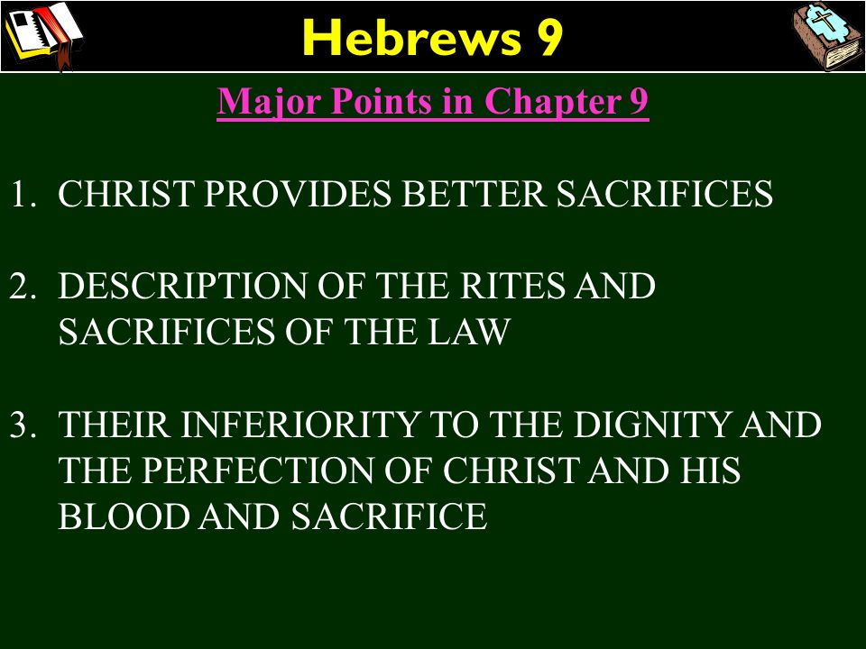 Major Points in Chapter 9