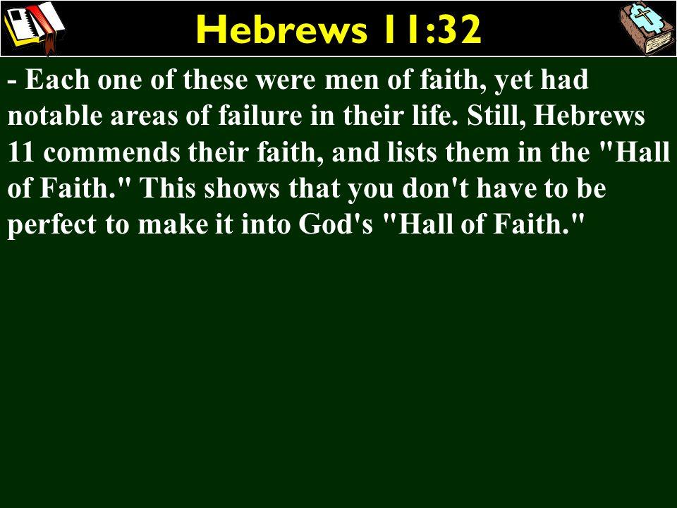 Hebrews 11:32
