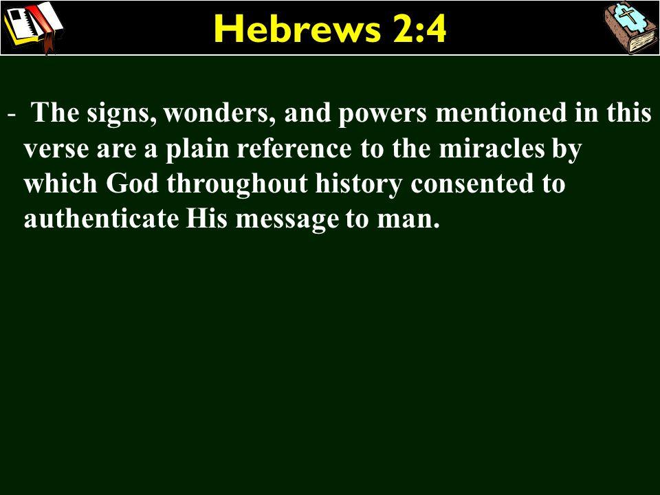 Hebrews 2:4