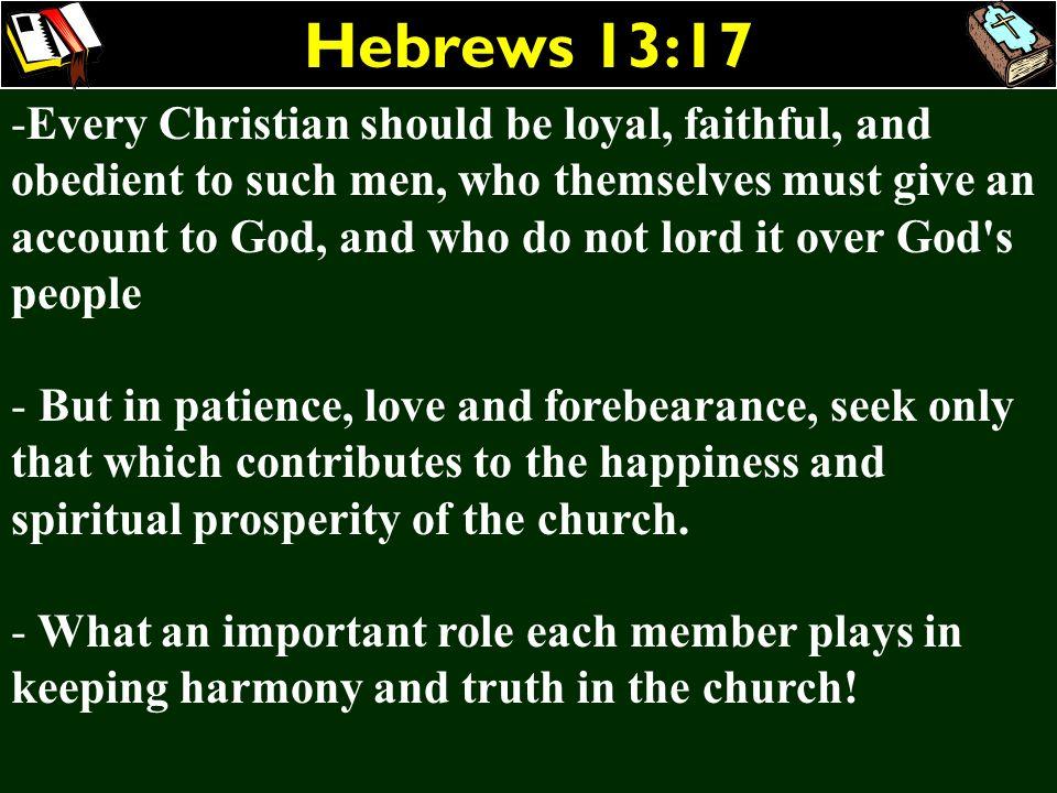 Hebrews 13:17