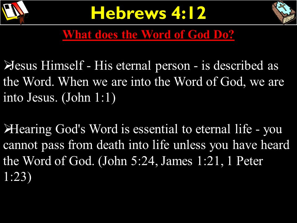 What does the Word of God Do