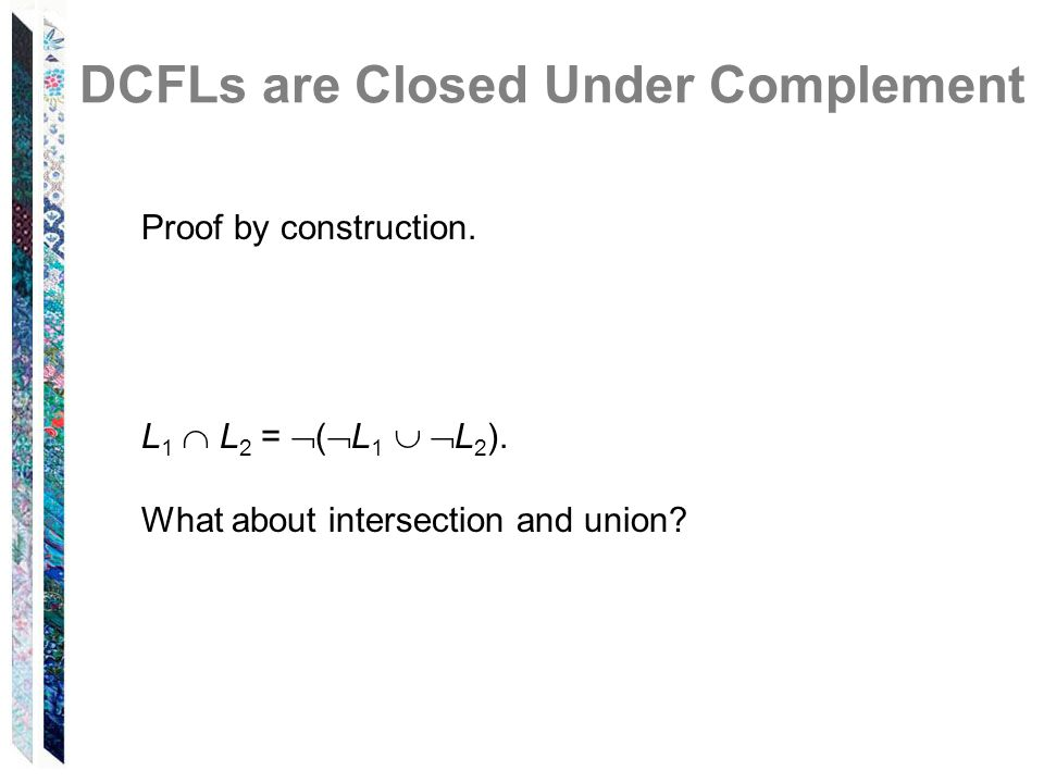 DCFLs are Closed Under Complement