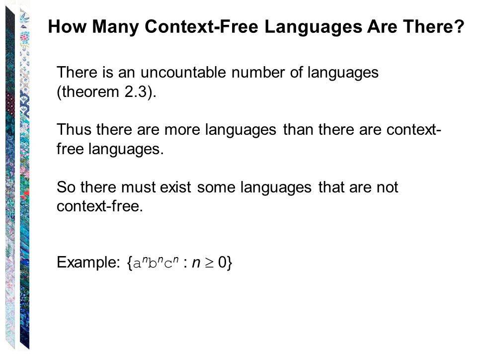 How Many Context-Free Languages Are There