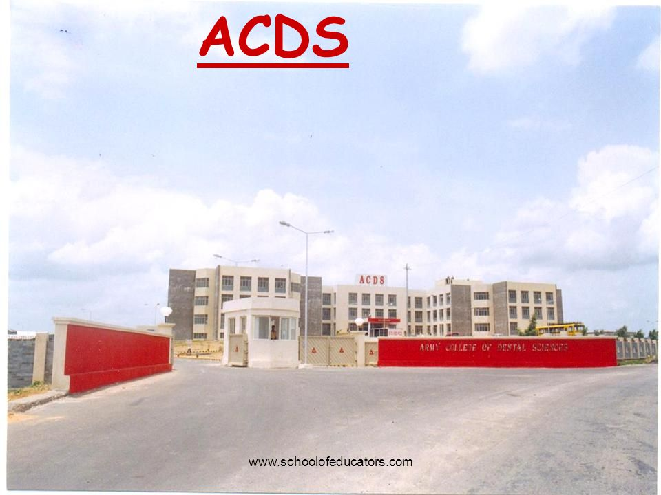 ACDS www.schoolofeducators.com