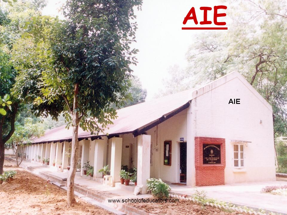 AIE www.schoolofeducators.com