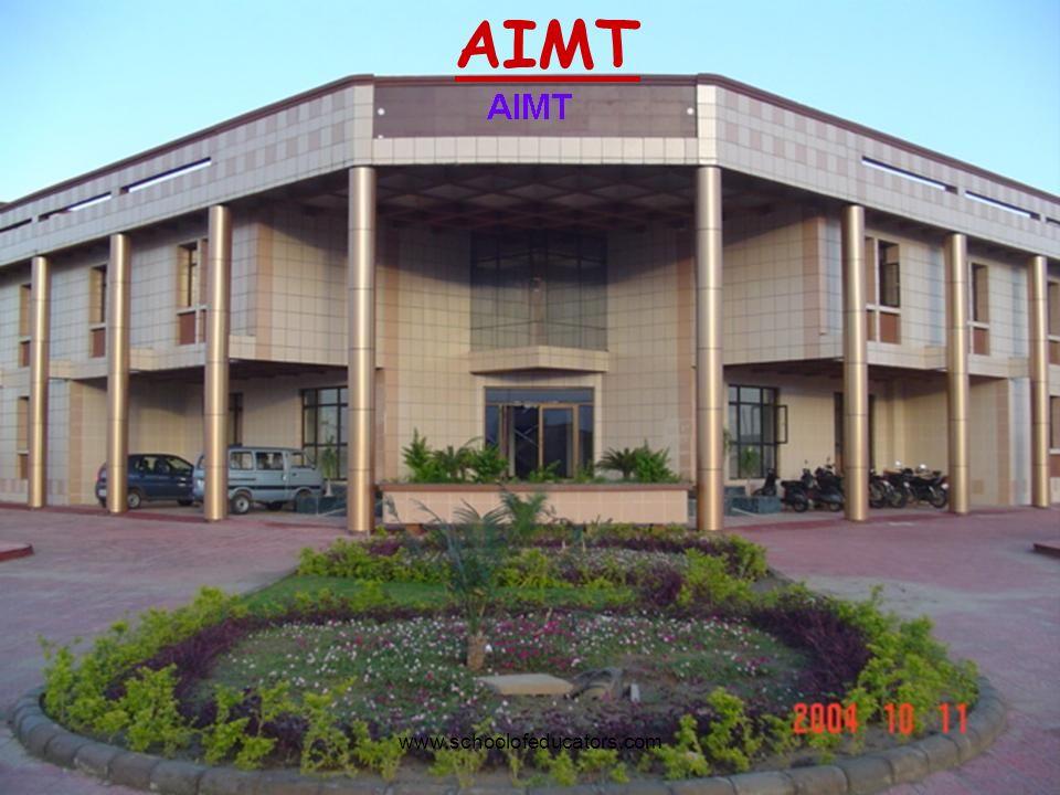 AIMT www.schoolofeducators.com
