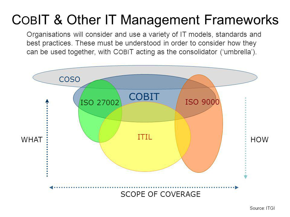COBIT & Other IT Management Frameworks