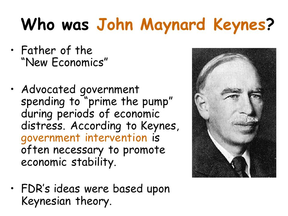 Who was John Maynard Keynes