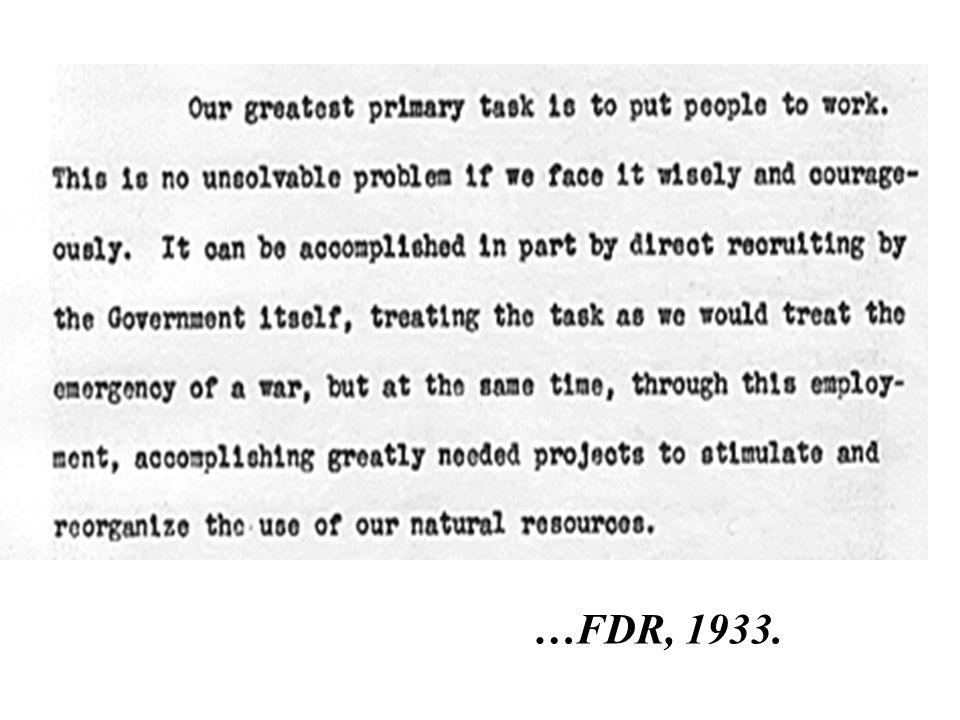 …FDR, 1933.