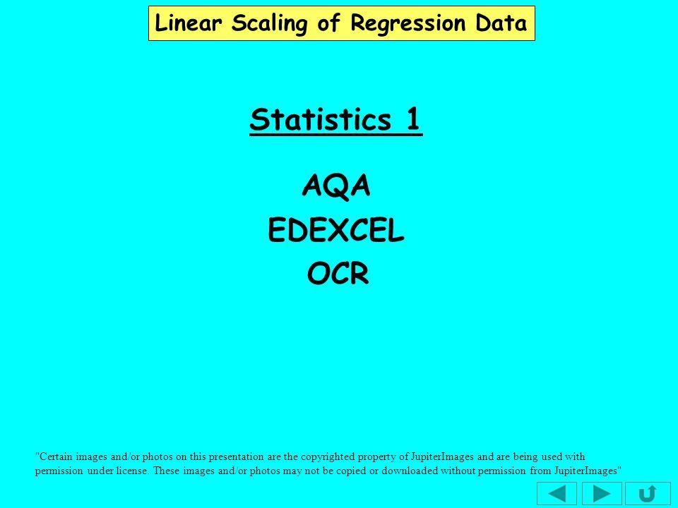 Statistics 1 AQA EDEXCEL OCR