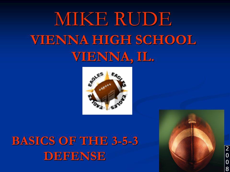 MIKE RUDE VIENNA HIGH SCHOOL VIENNA, IL.
