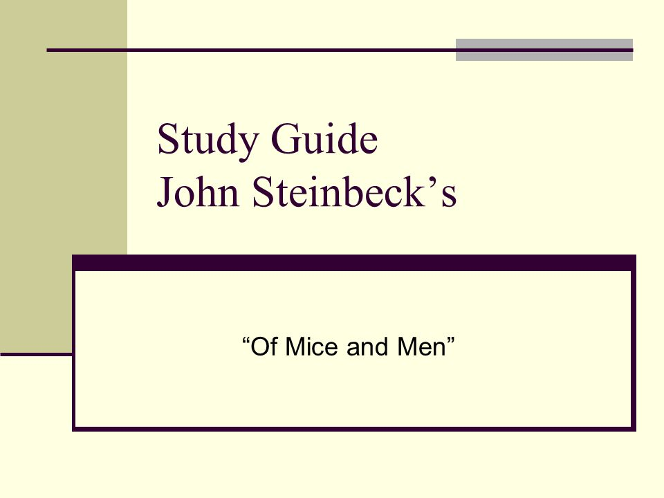of mice men study guide Author: konica minolta 920 created date: 3/26/2013 12:16:24 pm.