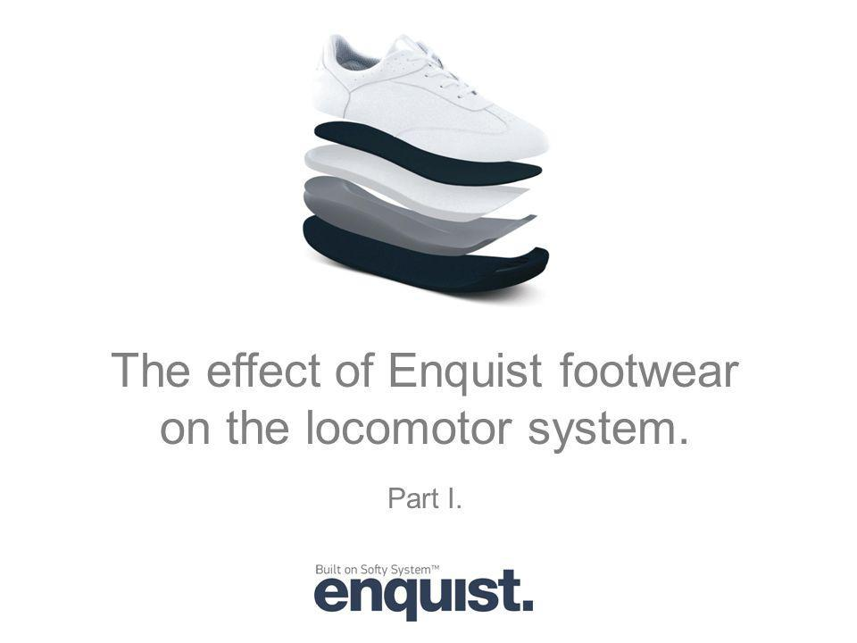 The effect of Enquist footwear on the locomotor system.