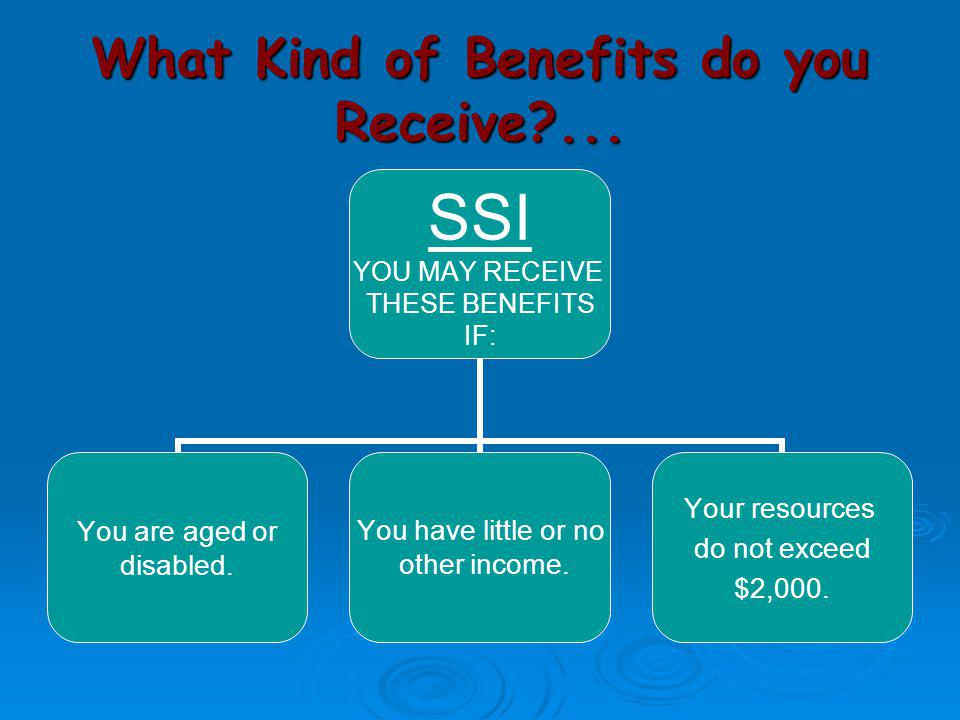 What Kind of Benefits do you Receive ...