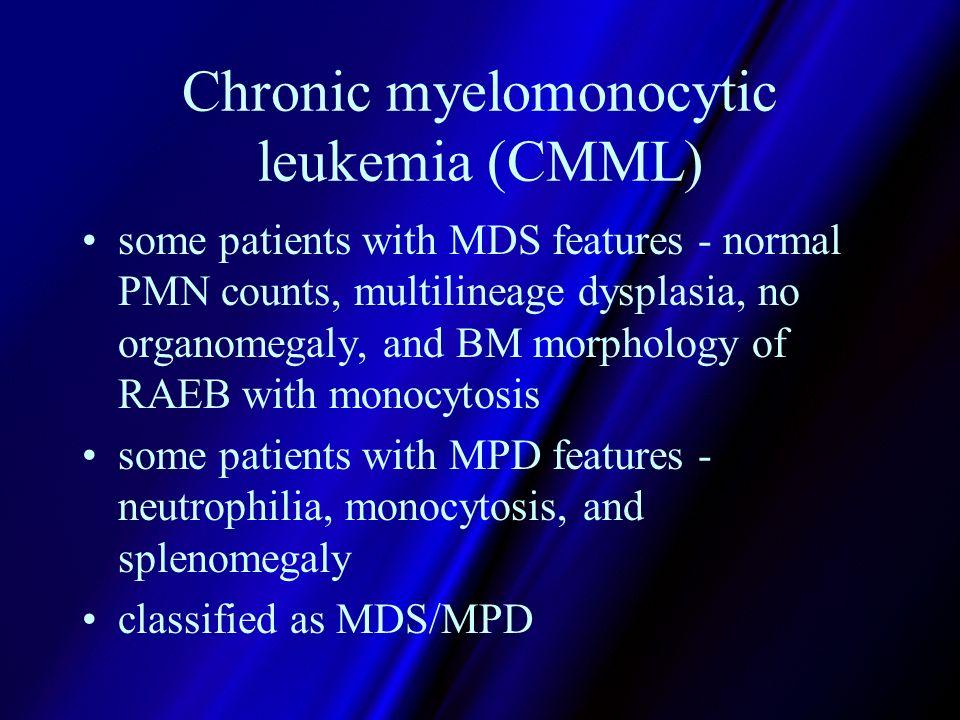 Successful treatments adult chronic myelomonocytic leukemia