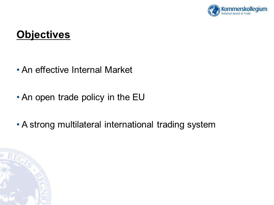 An effective Internal Market