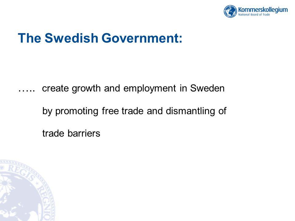 The Swedish Government: