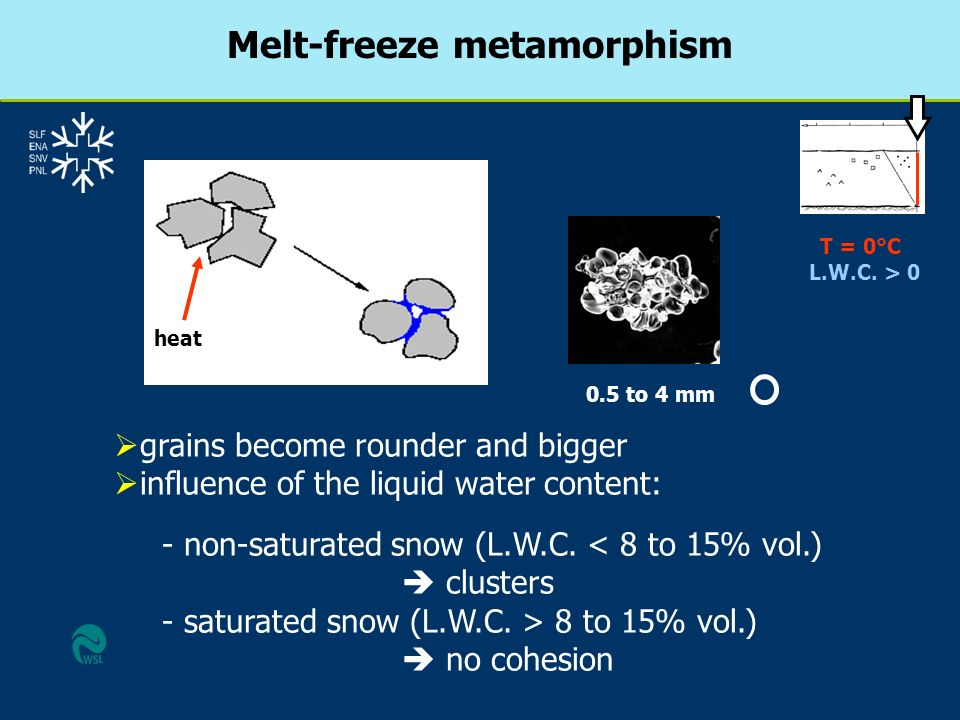 Melt-freeze metamorphism