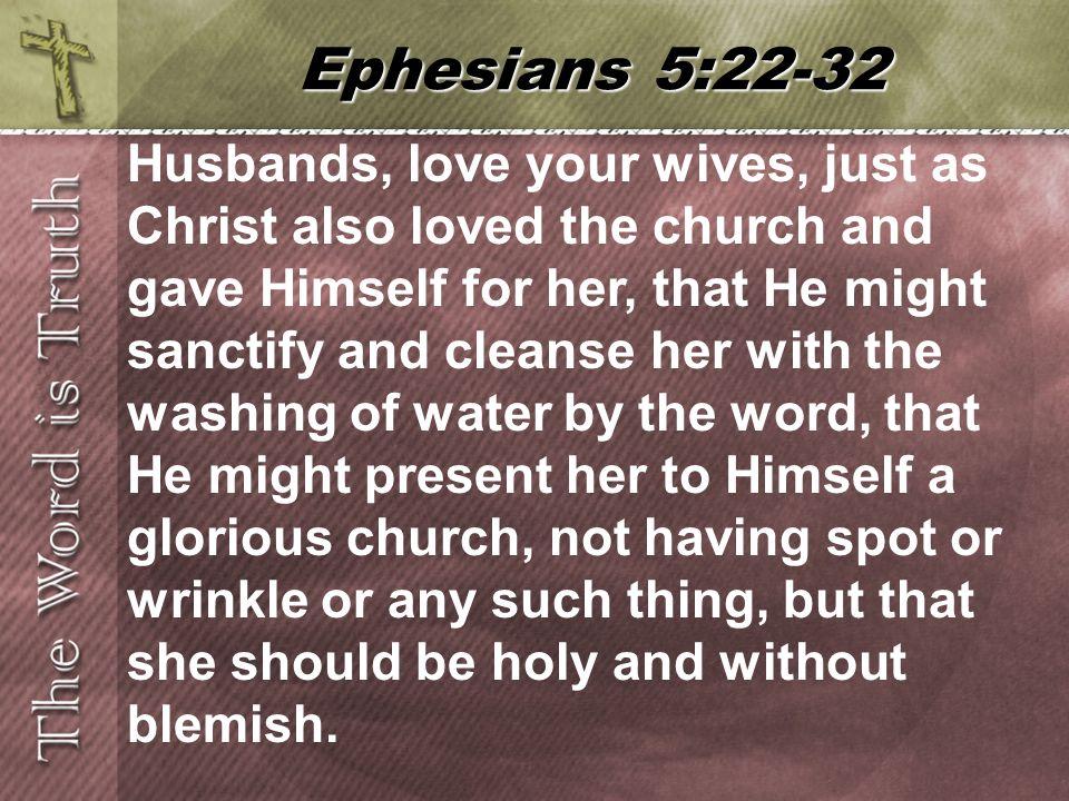 Ephesians 5:22-32