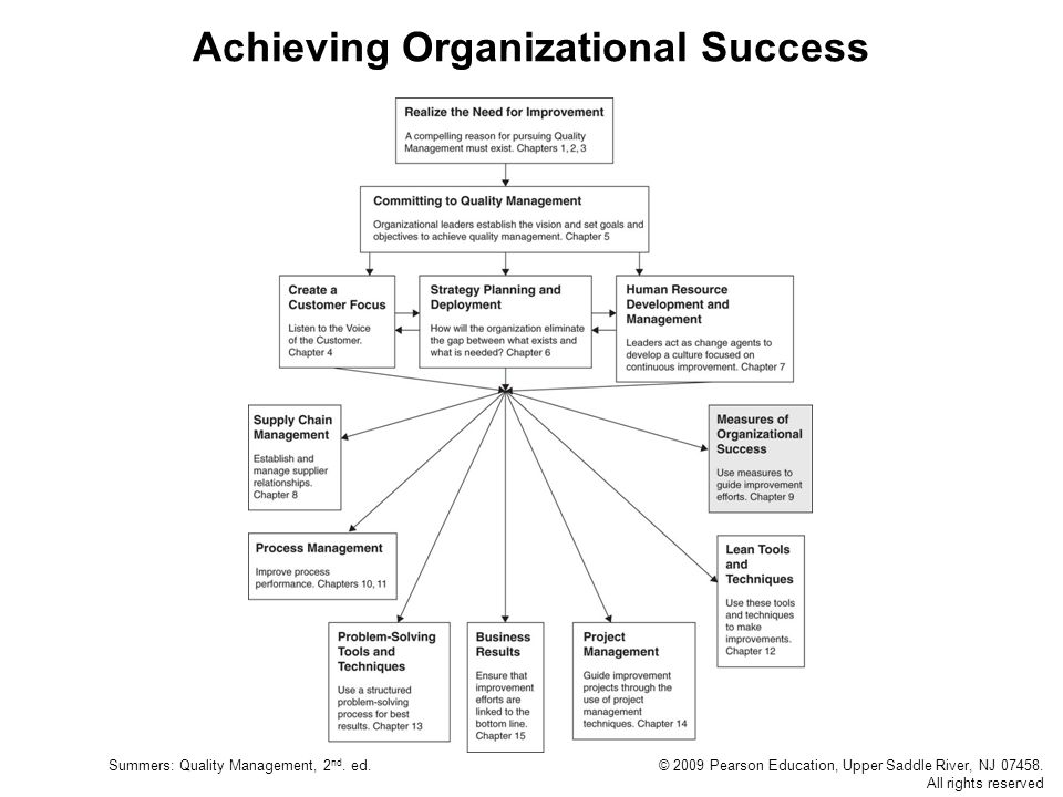 Achieving Organizational Success
