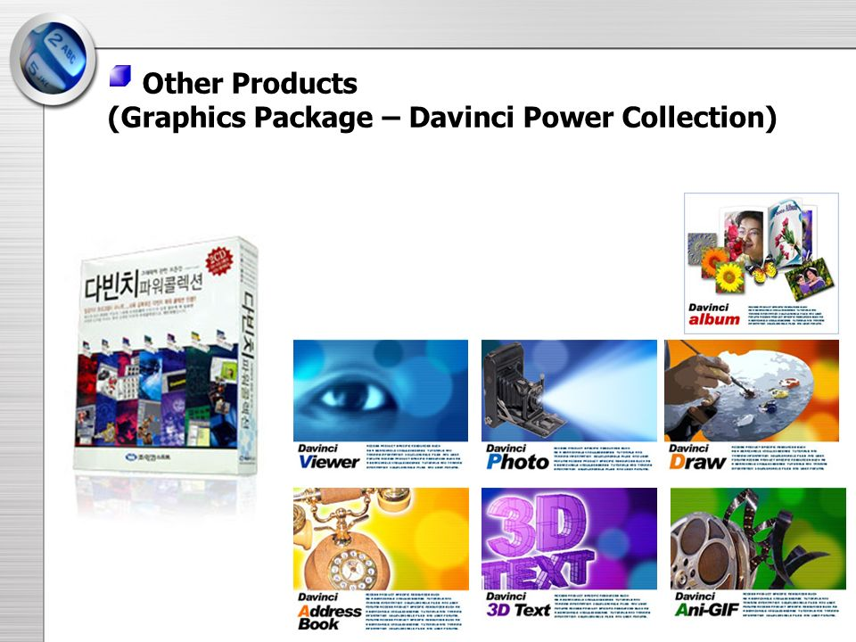 (Graphics Package – Davinci Power Collection)