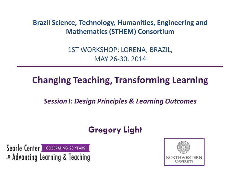 Changing Teaching, Transforming Learning