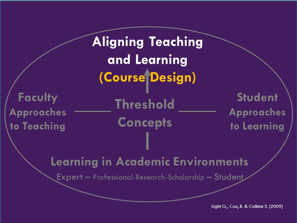 Approaches to Teaching Approaches to Learning