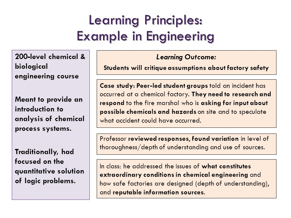 Students will critique assumptions about factory safety
