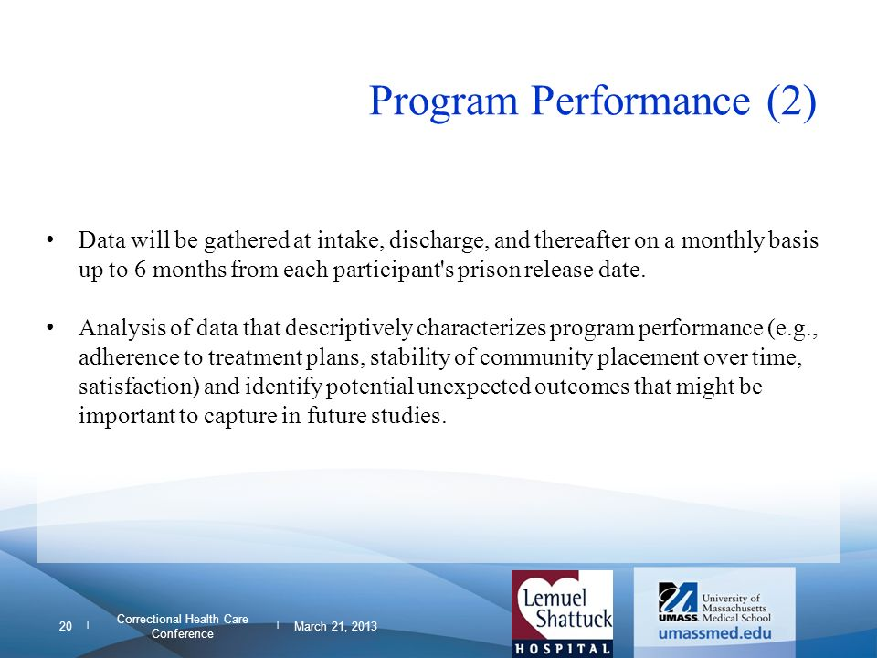 Program Performance (2)