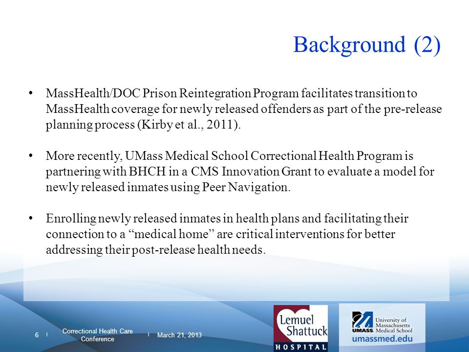 Correctional Health Care Conference