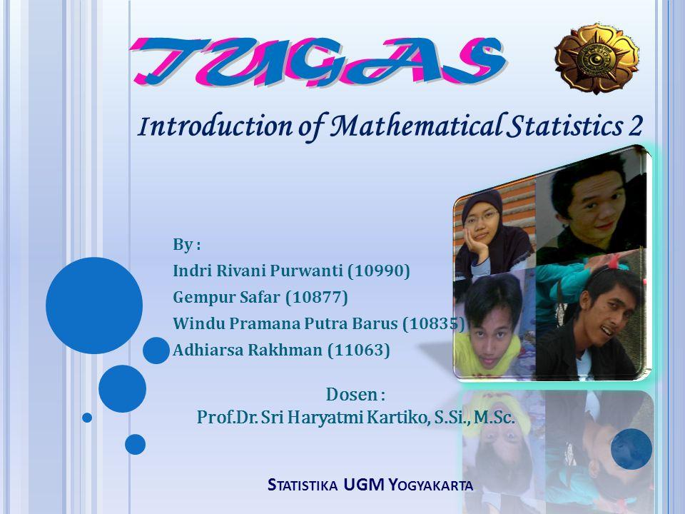Statistika UGM Yogyakarta