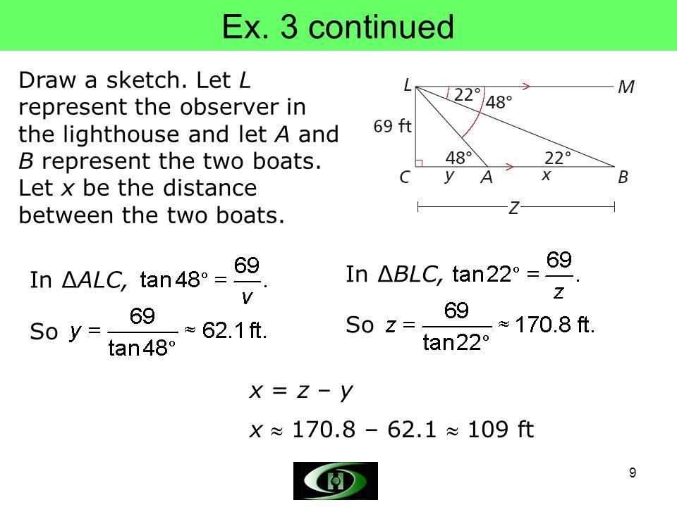 Ex. 3 continued