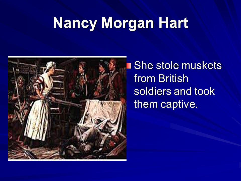 Nancy Morgan Hart History Of American Women