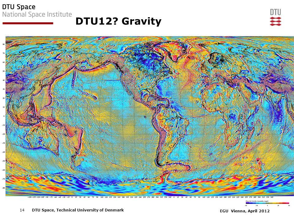DTU12 Gravity