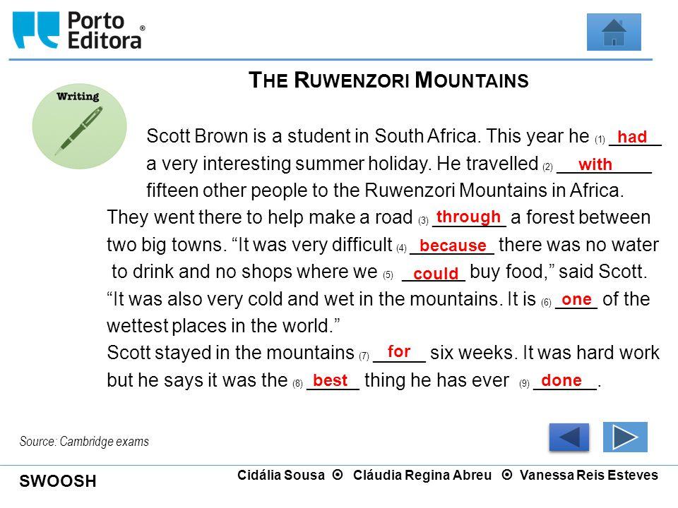 The Ruwenzori Mountains