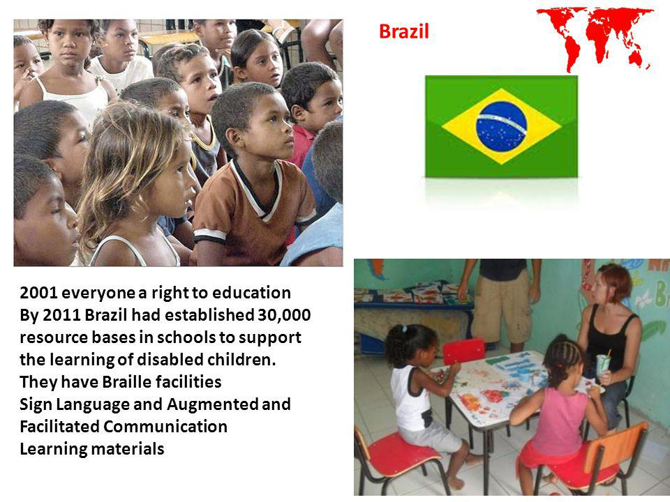 Brazil 2001 everyone a right to education
