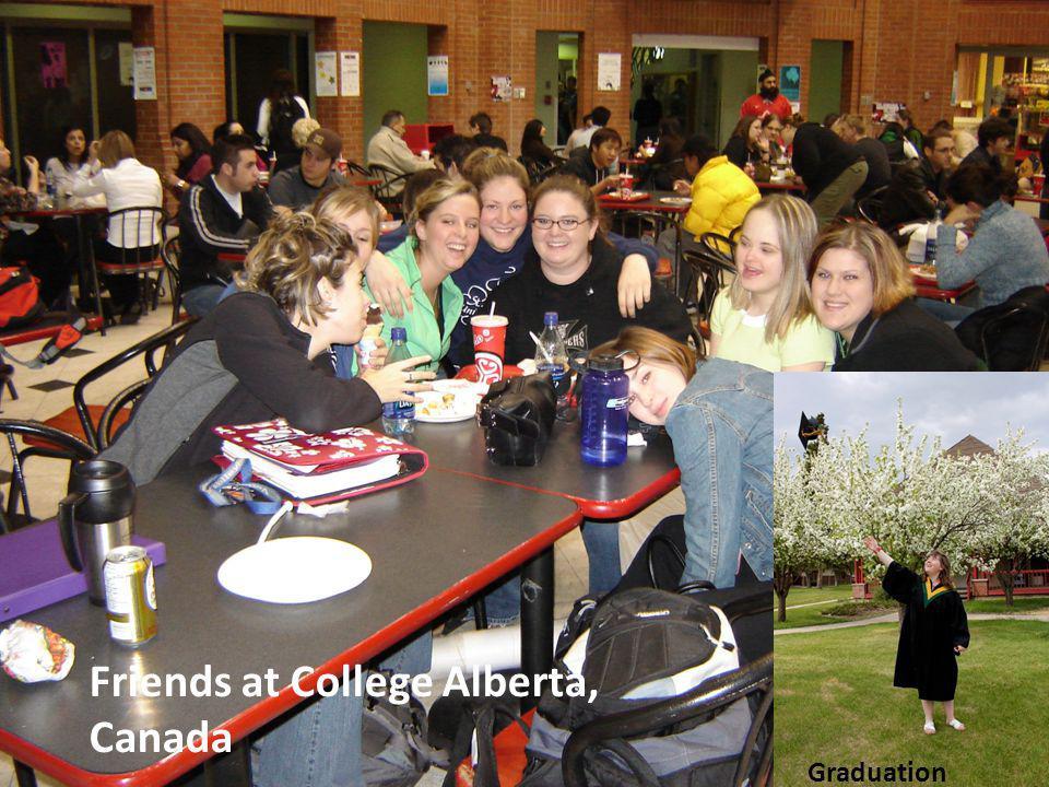 Friends at College Alberta, Canada