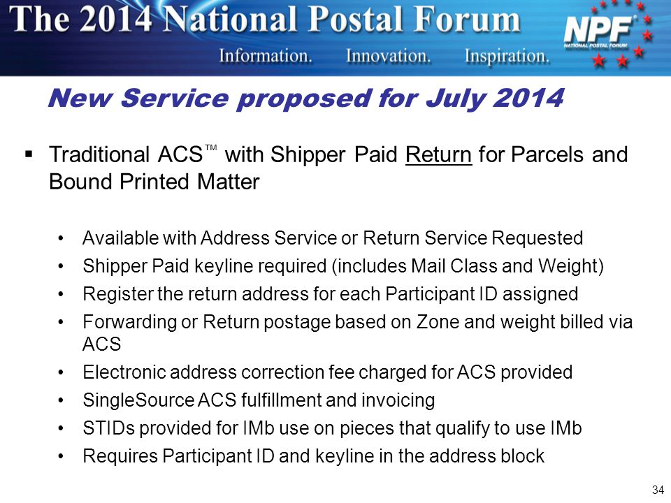 New Service proposed for July 2014