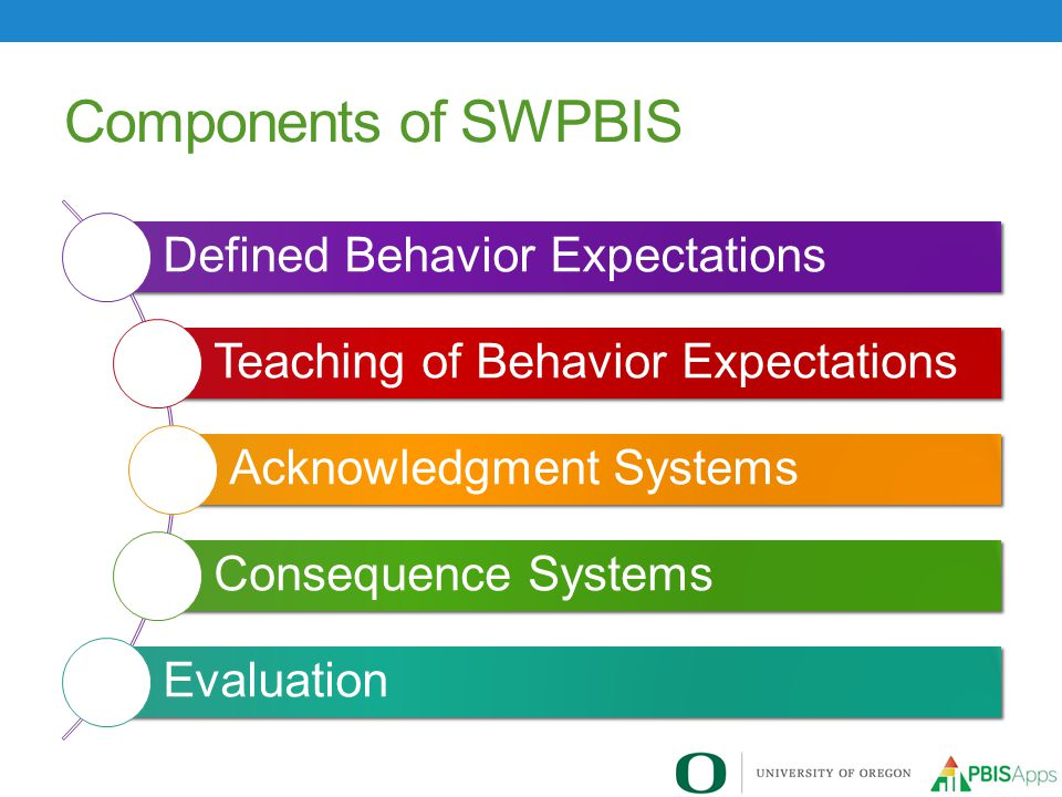 Components of SWPBIS Defined Behavior Expectations