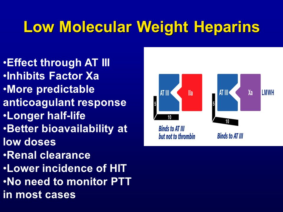 Low Molecular Weight Heparins