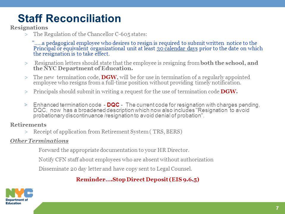 Reminder….Stop Direct Deposit (EIS 9.6.5)