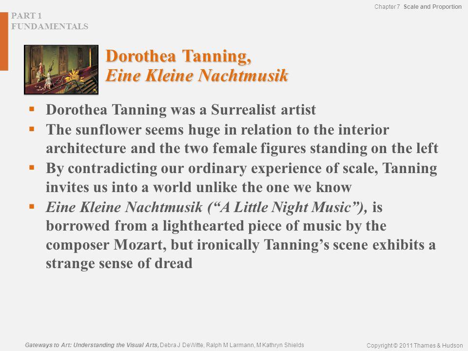 Dorothea Tanning, Eine Kleine Nachtmusik